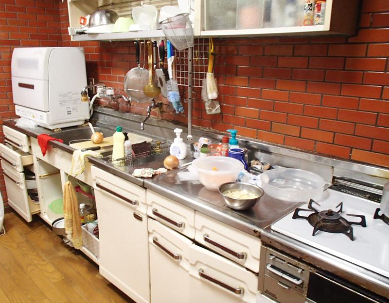 富山県富山市内 システムキッチン入れ替え+台所改修リフォーム